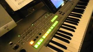 Tyros Nel - BESAME MUCHO (cover) Yamaha Tyros (0123456789)