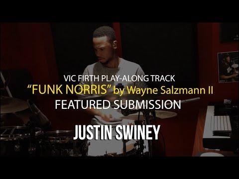"""Funk Norris"" Playalong - featuring Justin Swiney"
