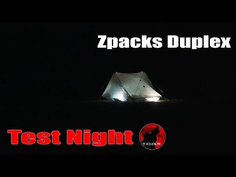 Will It Leak? - Test Night - Zpacks Duplex - Wind and Rain