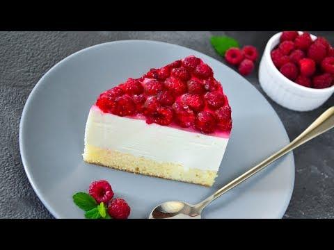 Немецкий ТОРТ с творогом и малиной ☆ Himbeer-Quark-Torte