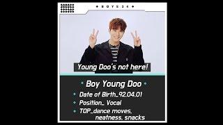 [BOYS24 Profile] 'BOY CARD' - Ep 13. BOY YoungDoo_ENG. ver