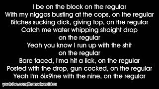 6IX9INE - KEKE (ft. Fetty Wap, A Boogie Wit Da Hoodie) (Lyrics)