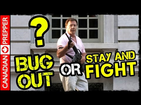 Bug Out or FIGHT? Defending Home During Civil Unrest