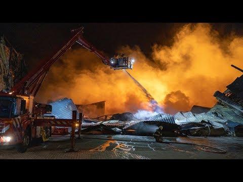 Oosterwolde: Grote brand Houtwal blijkt aangestoken photo