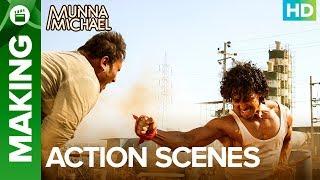Munna Michael Action Scenes (Making)   Tiger Shroff & Nidhhi Agerwal width=