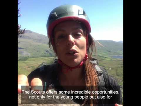 Meg Hine on volunteering with Scouts
