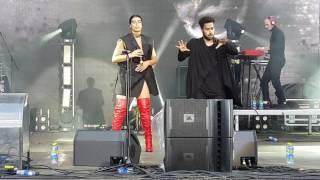 Sevdaliza - Human (Live @ Bosco Fresh Fest Moscow, Russia 06/25/2017)