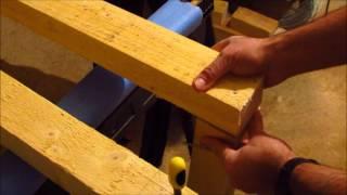 Bricolage : Comment fabriquer un établi de travail en bois - work bench