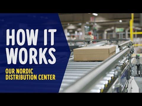 Se hvordan roboter regjerer i det ENORME lageret vårt!
