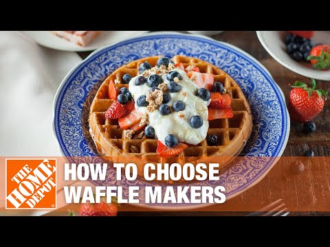 How to choose waffle makers