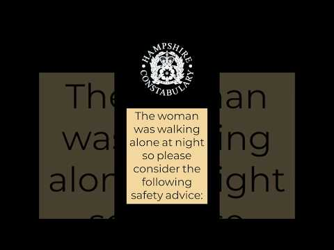 Safety advice follwoing rape in Southampton