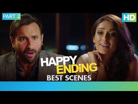 Happy Ending - Best Scenes Part 2 | Saif Ali Khan, Ileana D'cruz, Kalki Koechlin & Govinda