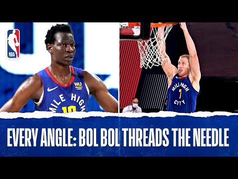 Every Angle: Bol Bol Threads The Needle With CRAZY Pass!