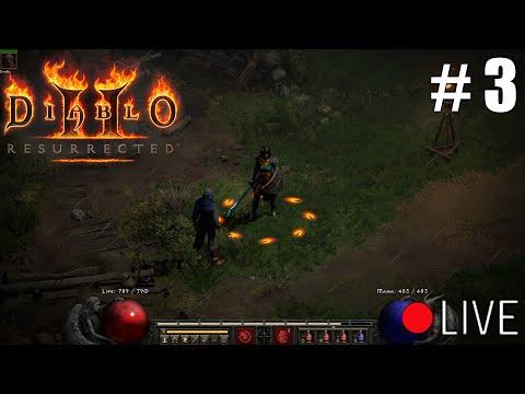 Diablo 2 Resurrected - Nightmare Sorceress Livestream Part 3