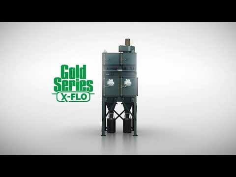 Gold Series X-Flo Industrial Dust Collector