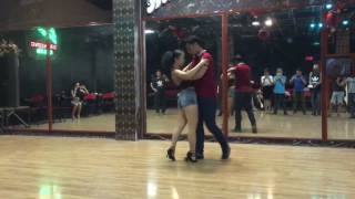 Dơi & Vjt Béo [Dama - Duele] Advanced Bachata Class 2 2017