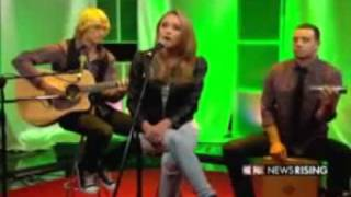 "Emily Osment - ""All The Way Up"" ACOUSTIC [On Fox News Rising in charlotte N.C.(11/12/2009)]"