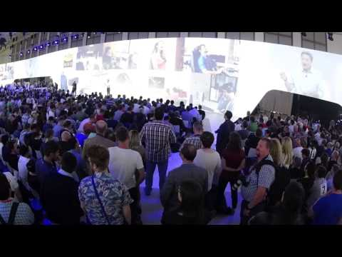IFA 2015: Timelapse of Sony press conference