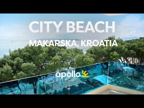 Apollos City Beach på Makarska