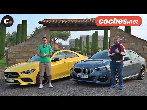 BMW Serie 2 Gran Coupé vs Mercede-Benz CLA 2020 | Prueba / Test / Review en español | coches.net