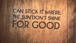 """Aaron Goodvin """"Knock On Wood"""" - Lyric Video"""