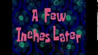 A Few Inches Later Spongebob Time Card