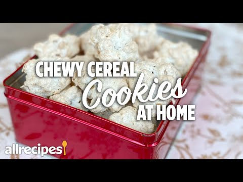 How to Make Chewy Cereal Cookies #WithMe | At Home Recipes | Allrecipes.com
