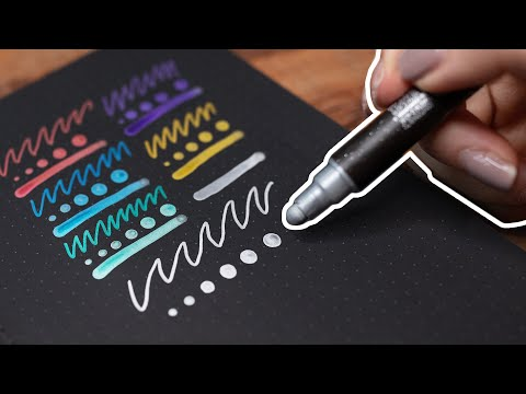 testing the COOLEST markers! + stationery haul!