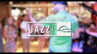 Salsa lessons in San Antonio @Jazz Tx 7 15 2017