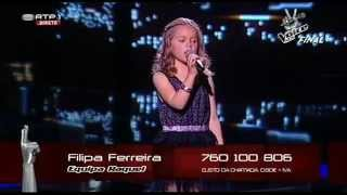 "Filipa Ferreira - ""Chamar a Música"" - Final - The Voice Kids"