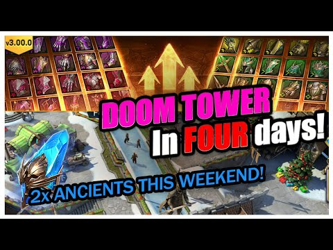 2x Ancients Coming! DOOM in 4 days! | RAID Shadow Legends