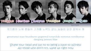B.A.P - One Shot (Color Coded Han|Rom|Eng Lyrics)
