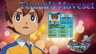 Tenma's Moveset In Inazuma Eleven Go Strikers 2013
