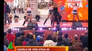 """Tucha no """"Portugal em Festa"""" da SIC em Castelo de Vide. Musica """"Dança P`ra Mim"""""""