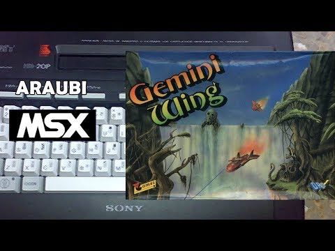 Gemini Wing (The Sales Curve, 1989) MSX [337] Walkthrough