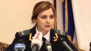 Наталья Поклонская   новый прокурор Крыма Natalia Poklonskaya   new Attorney Crimea
