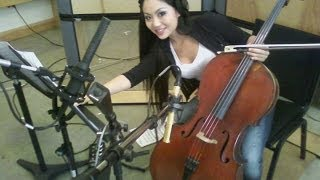 Tina Guo and Bryan Pezzone in the Studio: Recording Schindler's List