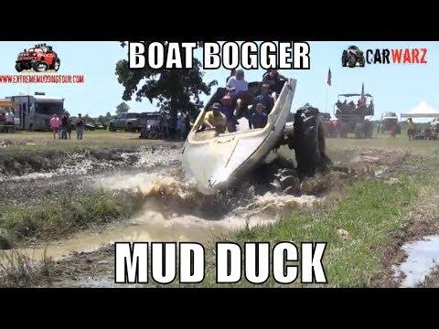 MUD DUCK Boat Bogger At Red Barn Customs Mud Bog 2018