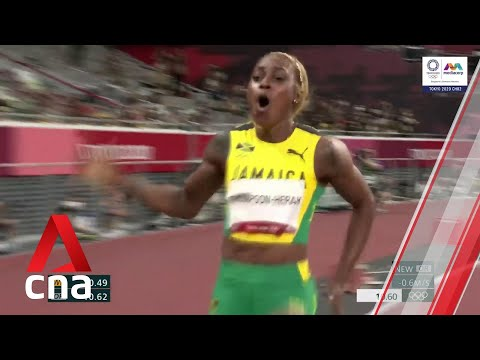 Jamaica's Elaine Thompson-Herah wins the #Tokyo2020 women's 100m