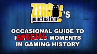 """Zero Punctuation: Yahtzee's """"Industry never learns anything"""" Jingle (E.T, Daikatana, Capcom)"""