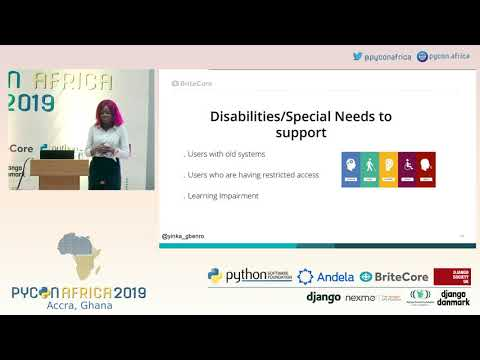 Accessibility Testing: Making Information & Software available to all & sundry - Adeyinka Adegbenro