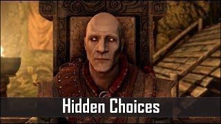 Skyrim: 5 Secret Choices You Didn't Know You Had in The Elder Scrolls 5: Skyrim