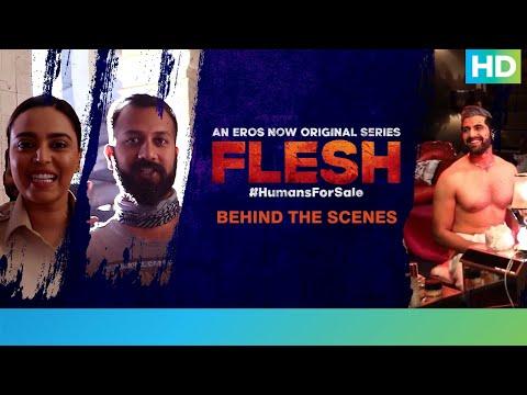 Flesh Bloopers | Swara Bhasker | Akshay Oberoi | Siddharth Anand | Behind The Scenes | Eros Now