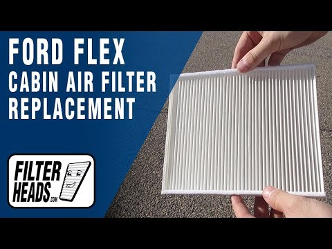 How to Replace Cabin Air Filter 2016 Ford Flex