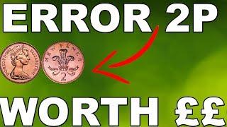 ERROR 2P COIN WORTH £1,000+ - 1983 2P COIN - UkCoinHunt