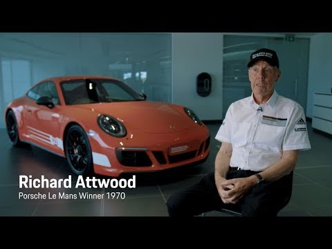 Richard Attwood meets his British Legends Edition 911 Carrera 4 GTS.