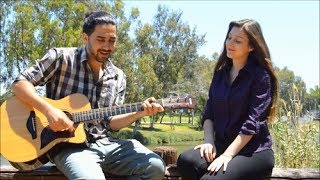Michelle and Tamir covering Crazy by Aerosmith || Crazy acoustic cover