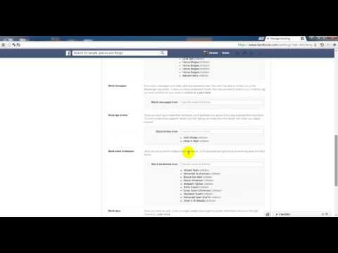 كيفية ايقاف الاشعارات المزعجة في الفيسبوك من العاب و مناسبات