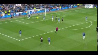 Gol de william Everton-Chelsea 0-3 -Premier League HD