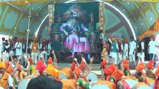 Jalgaon SSBT's COET Kshatriyakulavtans Dhol Tasha Pathak 2017